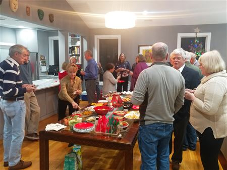 The HHSA Annual Holiday Party delivered as promised - a great celebration of the season with plenty of holiday cheer.