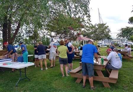 Held at THE GAZEBO POINT @ SHIPWRIGHT HARBOR MARINA. Great weather, food, drink and fun!