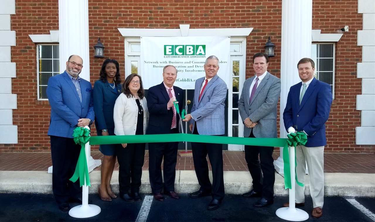 ECBA Ribbon Cutting Promotion