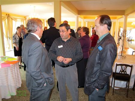Photos from January 2013 Luncheon with Michael Reid