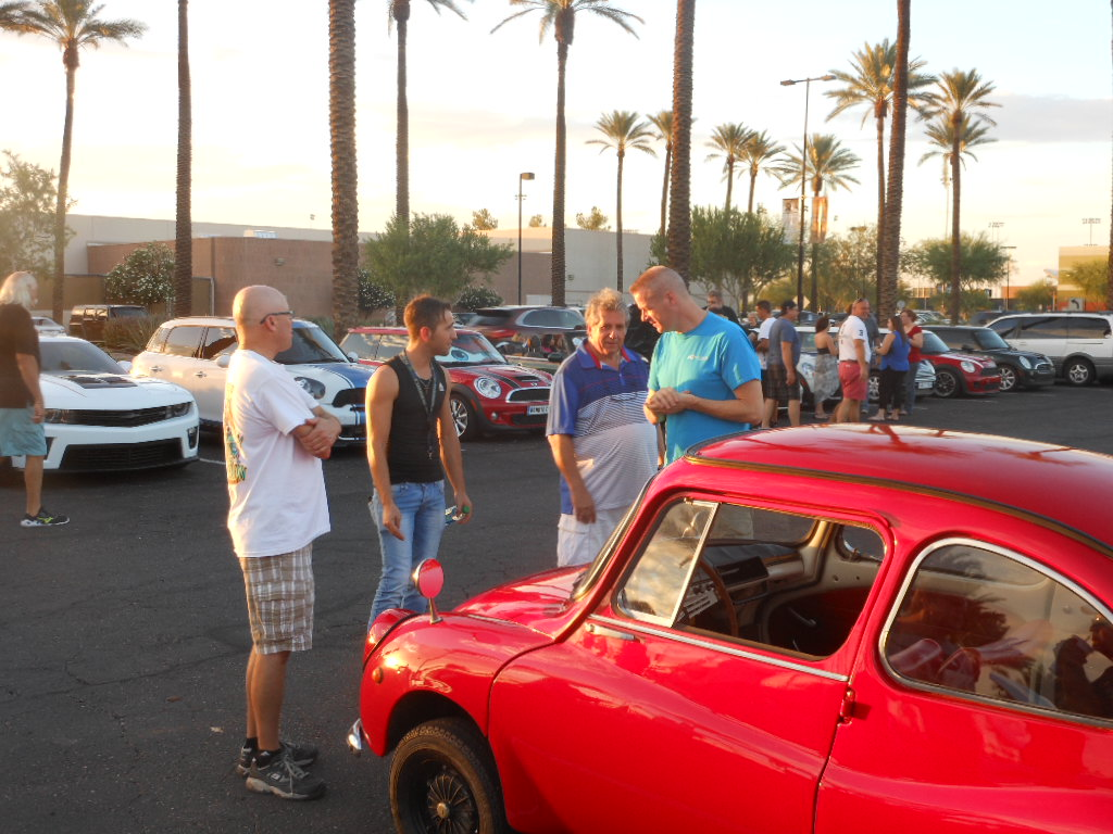 LCCI Central AZ Lambda Car Club International - Scottsdale classic car show