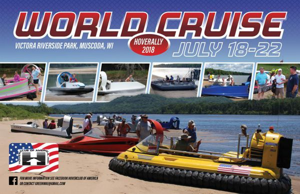 World Cruise Hoverally 2018