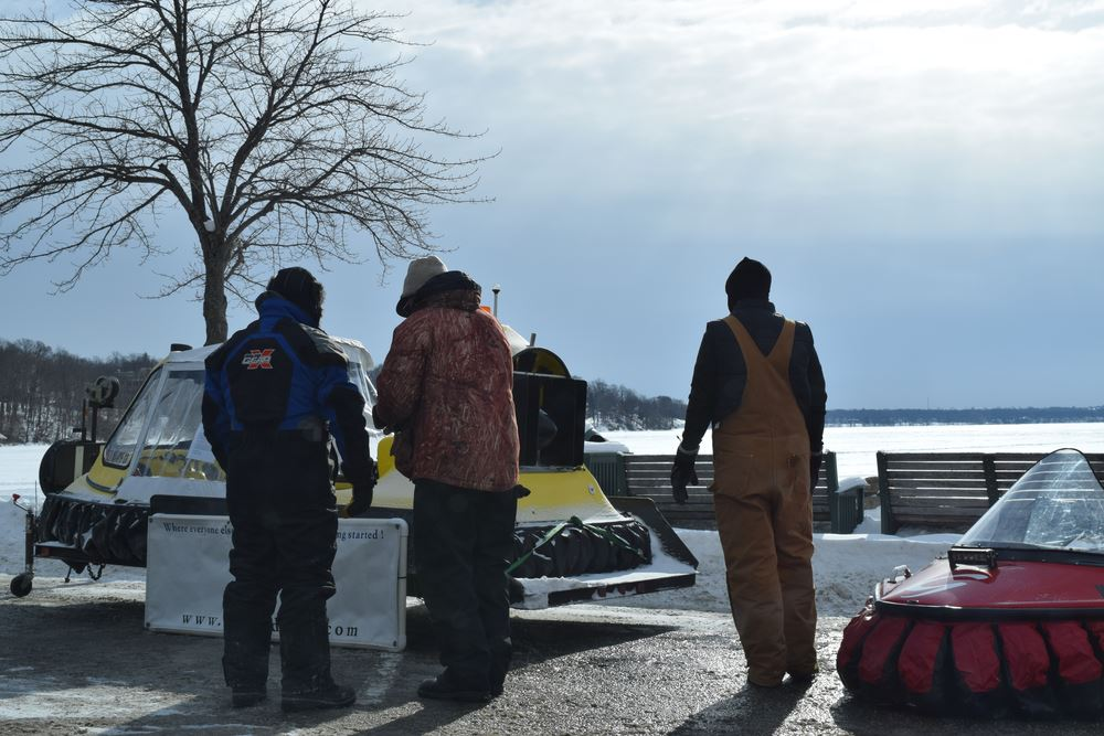 First year joining Winter Fest in Lake Geneva. It was so cold only 2 of the 4 craft that showed up would even start.