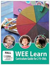 WEE Learn Curriculum Guide for Two Yr. Olds - click to view details