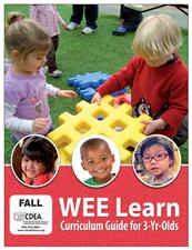 WEE Learn Curriculum Guide for Three Year Olds  - click to view details