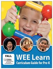 WEE Learn Curriculum Guide for Pre-K - click to view details