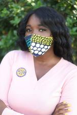 Hellah Stitches Face Mask from Nigeria - click to view details