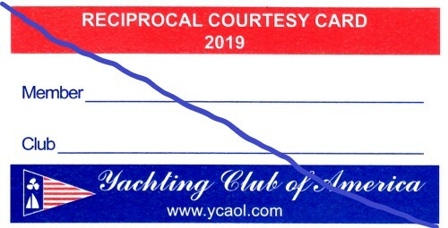 YCOA Reciprocal Courtesy Card