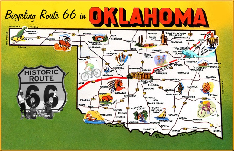 Map Route Attractions Oklahoma Kdove – Tourist Attractions Map In Oklahoma
