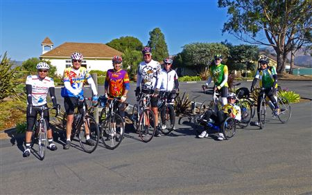 Jim Datsko cycling with the San Luis Opisbo Bicyclists