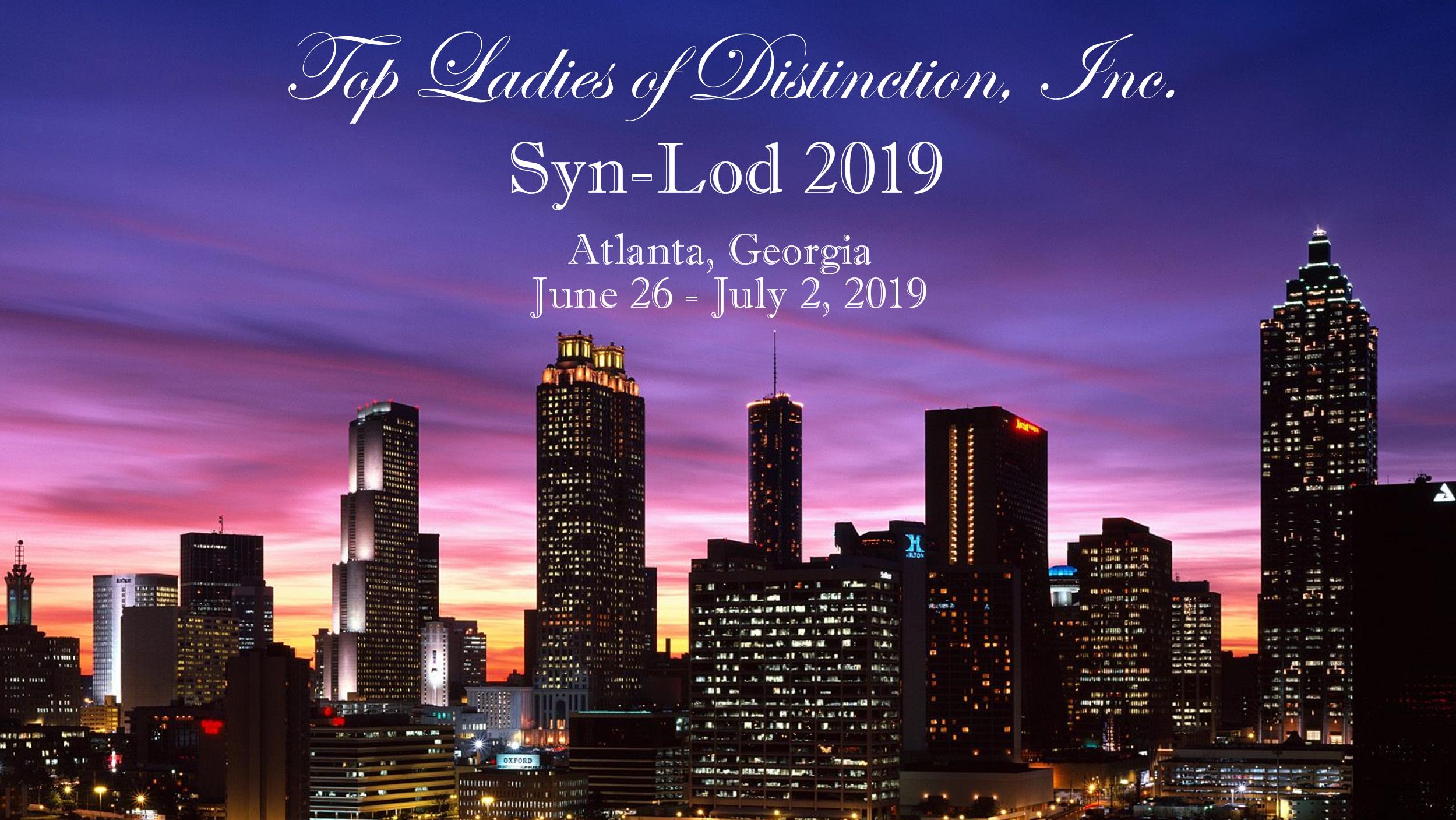 Syn Lod 2019 Top Ladies Of Distinction Inc