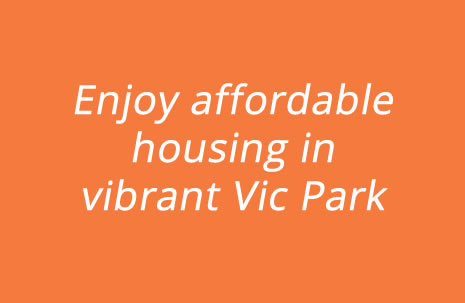 Enjoy affordable housing in vibrant Vic Park