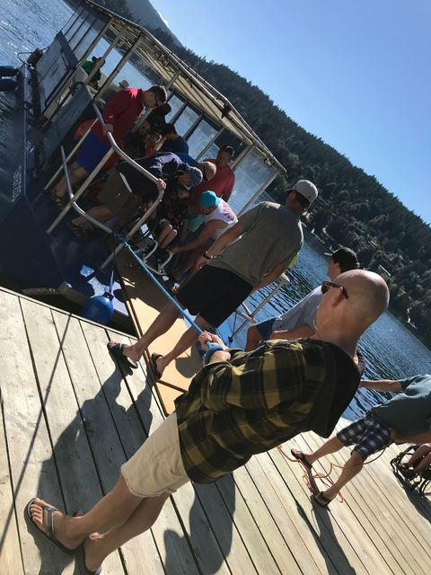 Our annual adaptive water ski clinic.