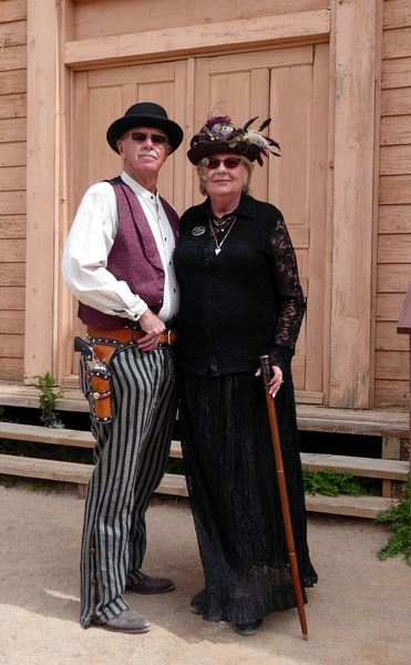 Photos from the Steampunk Convention at Old Tucson in March 2019.