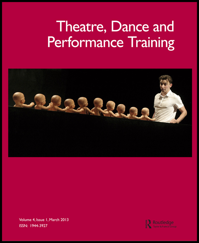 dance essay performance theory