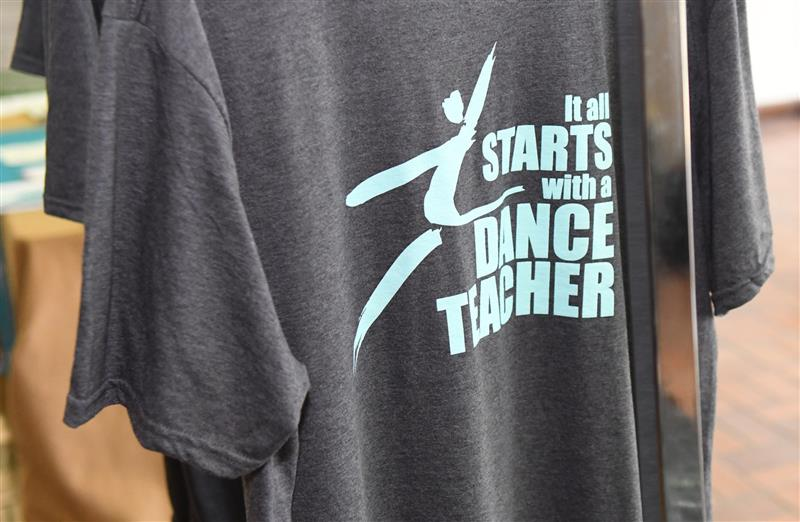 "NDEO ""It All Starts With A Dance Teacher"" T-shirt"