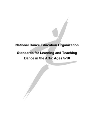 NDEO, Stnds Learning & Teaching Dance in Arts:5-18