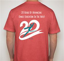 NDEO 20th Anniversary Limited Edition T-shirt - click to view details