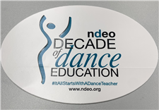 Decade of Dance Education Sticker - click to view details