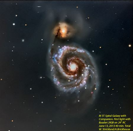 This is the album of Arp Peculiar Galaxies shot on the Meyer 24