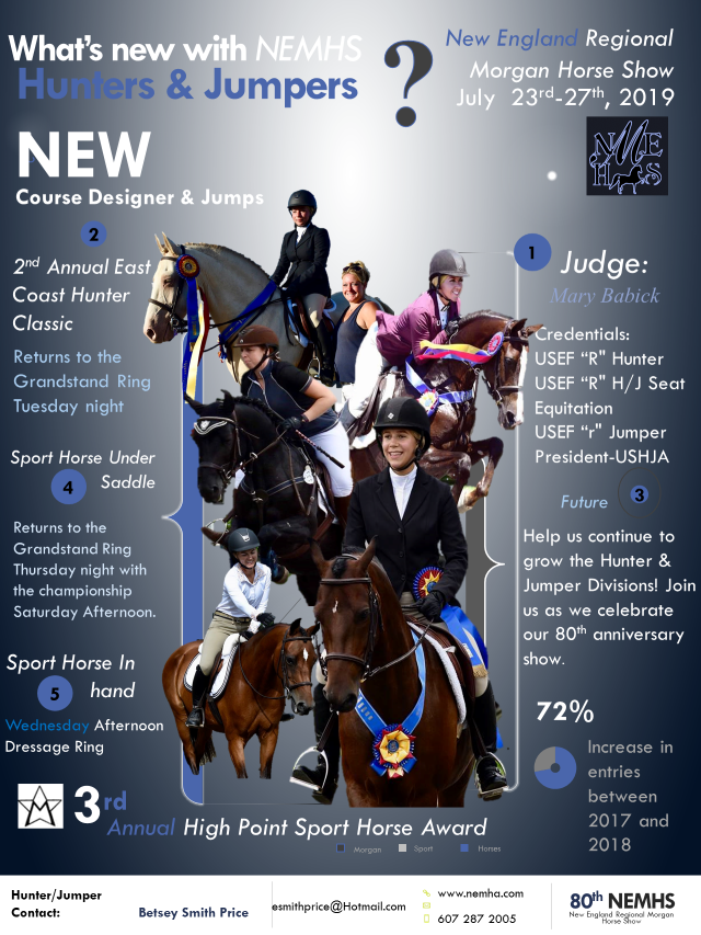 NEMHS 2019 New Hunters & Jumpers