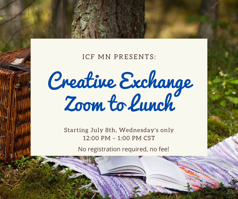 July 8th Creative Exchange lunch