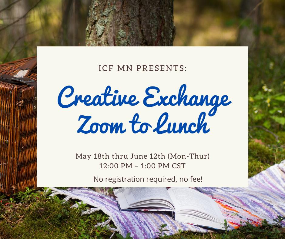 Zoom Lunch Exchange June