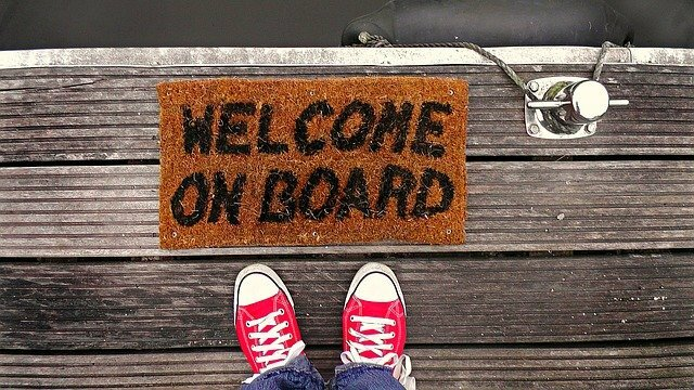 Welcome aboard pic