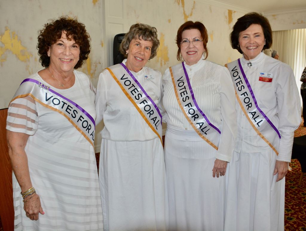 """The Heart of the Matter is Voting"" Feb. 15, 2020 began the Centennial celebration of women's suffrage by League of Orange County, partnering with AAUW of Winter Park & Central FL Black Women's Caucus"