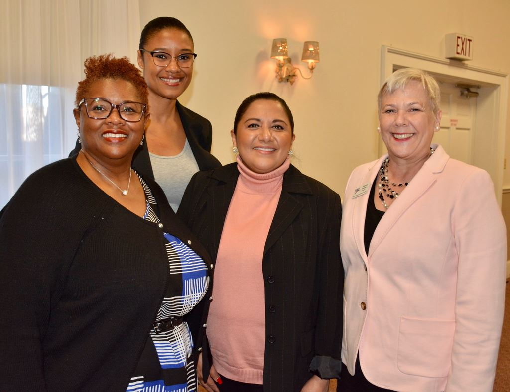 Jan. 8, 2020 Hot Topic:'Census 2020 Every Body Counts'; panelists outlined financial benefits to counties and states of an accurate head count. Panelists  Channa Lolyd, Lavon Williams, Jackie Colon.
