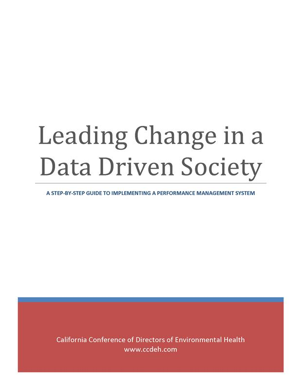 Leading Change in a Data Driven Society