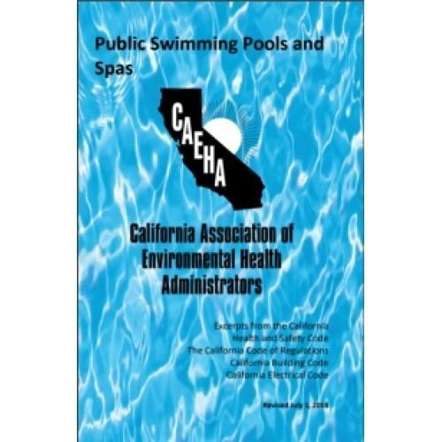2018 CA Public Swimming Pools and Spas Booklet