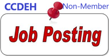 Non-Member Job Posting - click to view details