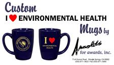 I Love Environmental Health Mug - click to view details