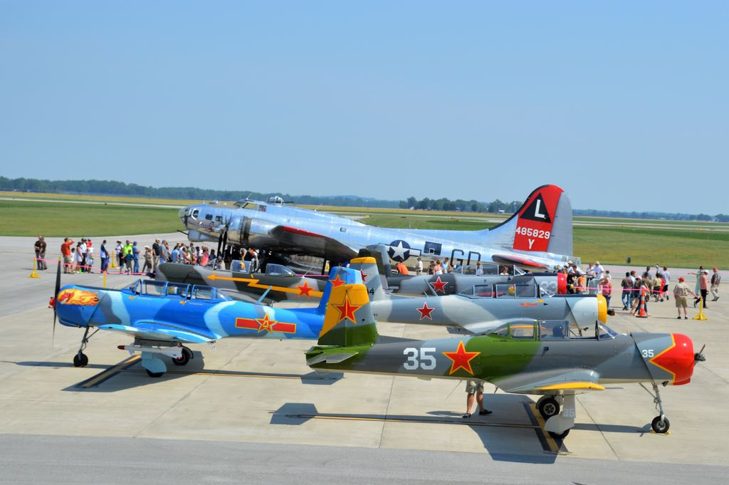 Columbus, IN BAK Aviation Day 2018