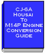 CJ-6A HOUSAI TO M14-P CONVERSION GUIDE - click to view details