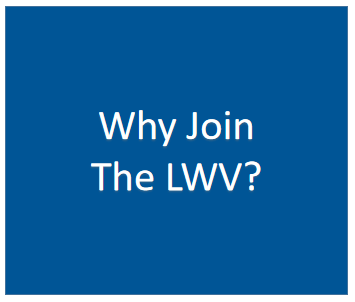 Why Join The LWV Graphic