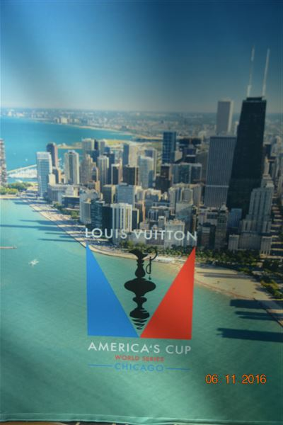 First time ever in 165 year history America Cup qualifier held on inland lake.