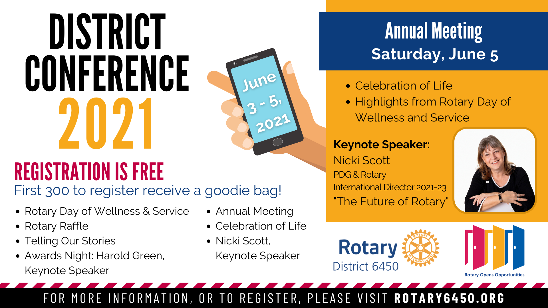2021 District Conference Annual Meeting