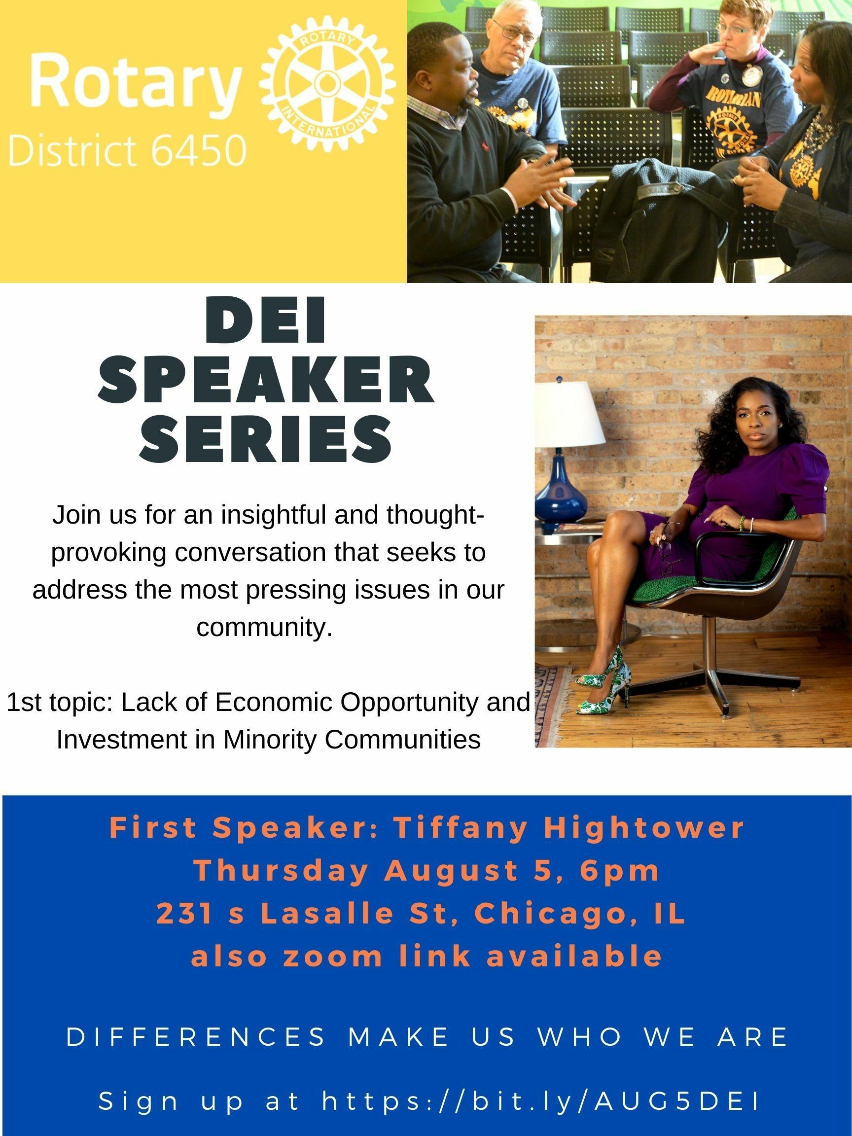 DEI Speaker Series 8.5.21