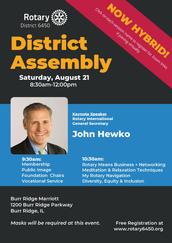 Register for 2021 District Assembly