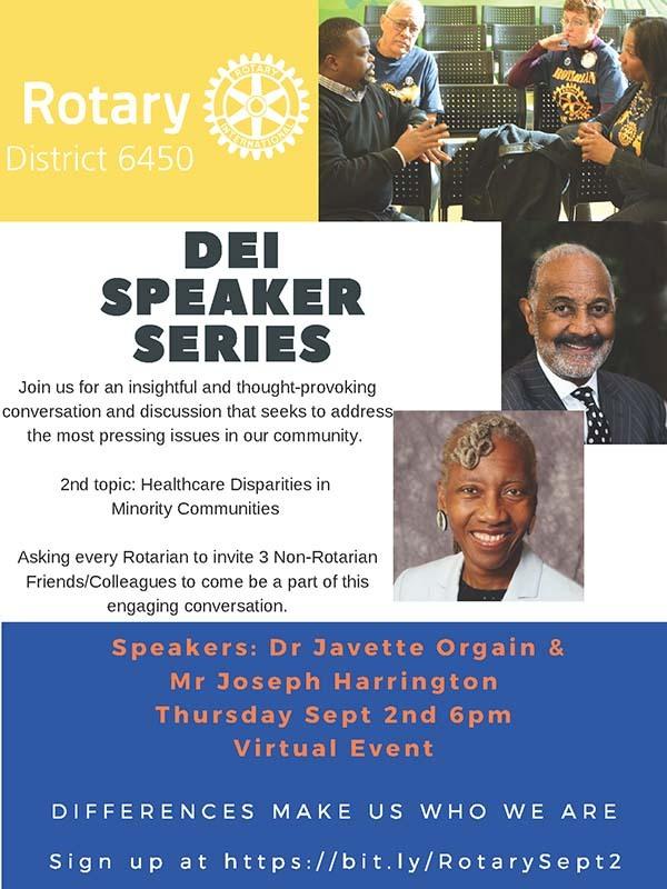 Register for DEI Series Sept 2nd