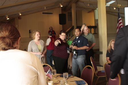 The Fun began Friday afternoon with the Foundation luncheon, highlighted by a talk from the GSE team
