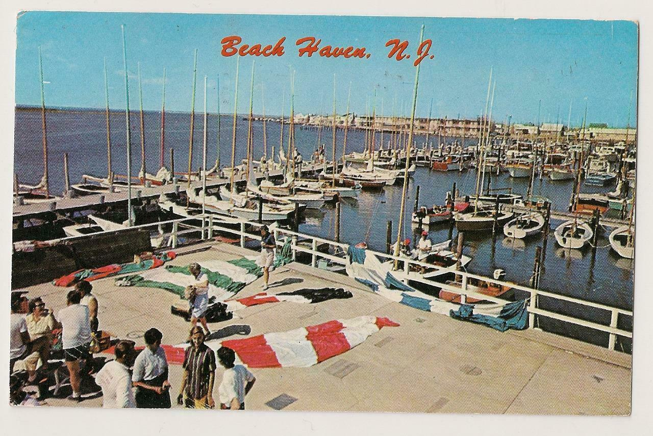 Vintage Beach Haven Docks at Little Egg