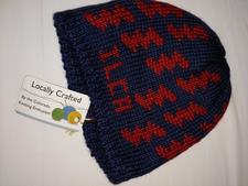 Hat - Knit ILCA - with small bolts - click to view details