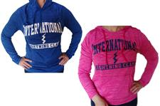 Long Sleeve Hooded Tech - Ladies - click to view details