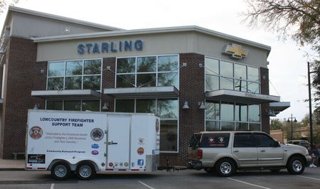 Starling Chevrolet Firefighter Support Team Show