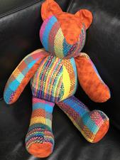 Teddy bear - Orange - click to view details