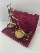 Brass Balance Scale - click to view details