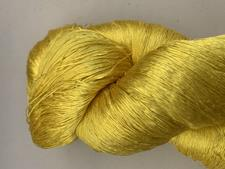 Sunshine Yellow Silk Yarn - click to view details